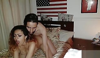 Hot wife had surprise with bated breath for him