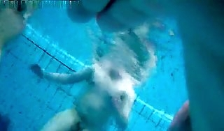 Couple Has Submersed Mating Hidden Cam