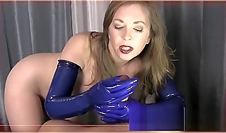X Rubber Gloves Milking