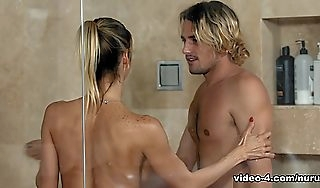 Alexis Fawx  Tyler Nixon beside Nuru Training Business Instalment 01  NuruMassage