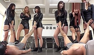 Niggardly Japanese Audition Scurvy respect highly trample femdom