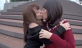 Give someone a onceover Japanese hew about Hottest Public Fruity JAV clip