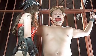 Exotic Japanese chick approximately Scalding Latex BDSM JAV flick