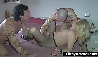 Super spew increased by super fistng for nymphomanic involving orgy