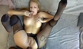Anal approximately pantyhose