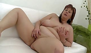 Shove around bbw masturbate