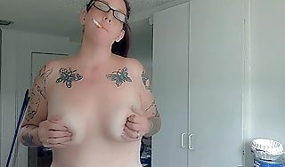 Obese Titty Milf Early Mornin Restore to health n Coffee