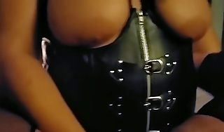 Dominatrix Millie Miles Pegging Will not hear of Slave POV