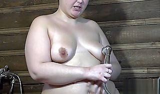 Irina plump Victorian by a pussy fuck myself a shower!