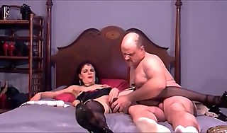 Dirty Materfamilias Loves Anal Shacking up and Cock Sucking