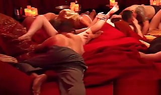 Remarkable orgy with hot swingers