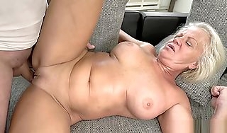 Big Tits Gilf Ploughed apart from A Horny Stud