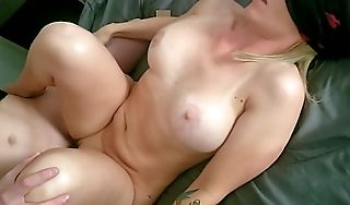 Slutty Little Blonde Sister Tricked Earn Sucking and Fucking Step Brother