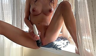 Teens vibrator makes her pussy squirt and cum hard! Short Version