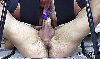 MF  Teen Squirts 2 Times on denied cock A78